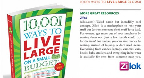 10,001 Ways To Save On A Small Budget