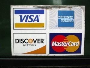 unused credit card
