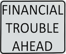 5 Indications You Might Be in Financial Trouble