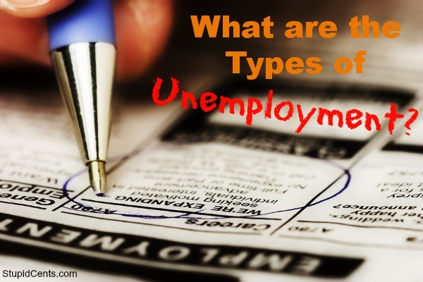 What are the Types of Unemployment?