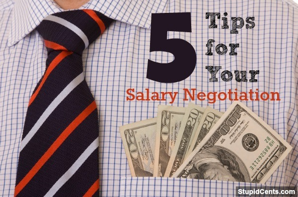5 Tips for Your Salary Negotiation