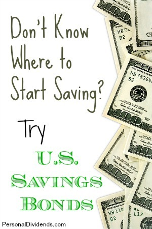 Don't Know Where to Start Saving? Try U.S. Savings Bonds