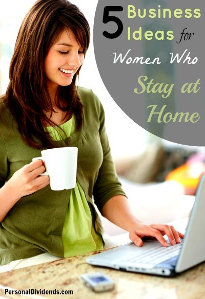 business ideas for women who stay at home