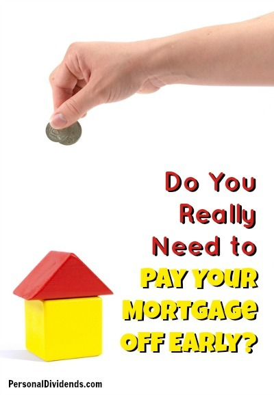 Do You Really Need to Pay Your Mortgage Off Early?