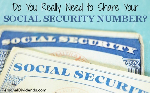 Do You Really Need to Share Your Social Security Number?