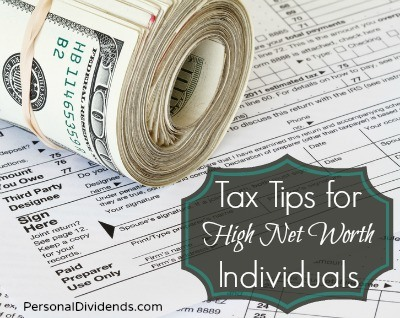 Tax Tips for High Net Worth Individuals