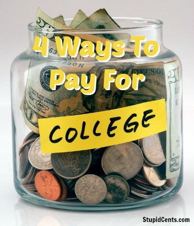 4 Ways To Pay For College
