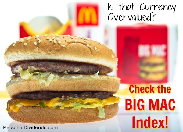 Is that Currency Overvalued? Check the Big Mac Index!
