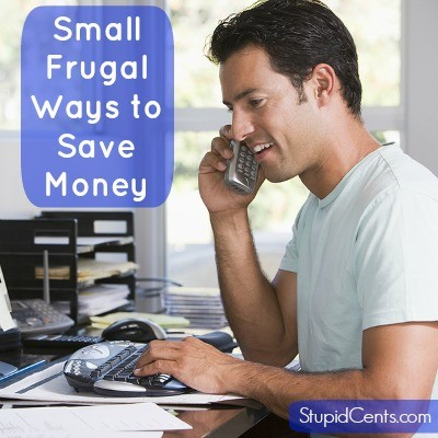 Small Frugal Ways to Save Money
