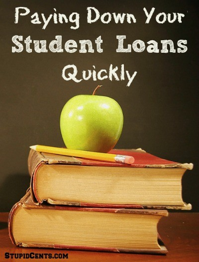 Paying Down Your Student Loans Quickly