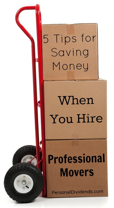 5 Tips for Saving Money When You Hire Professional Movers