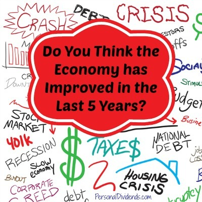 Do You Think the Economy has Improved in the Last 5 Years?