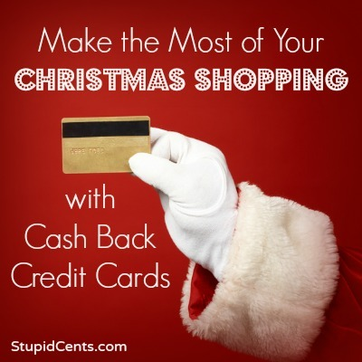 Make the Most of Your Christmas Shopping with Cash Back Credit Cards