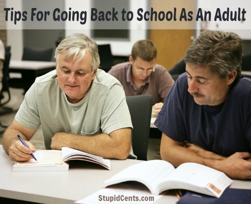 Tips For Going Back to School As An Adult