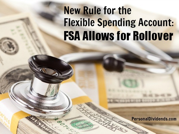 New Rule for the Flexible Spending Account: FSA Allows for Rollover
