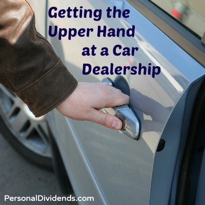 Getting the Upper Hand at a Car Dealership