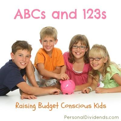 ABCs and 123s: Raising Budget Conscious Kids