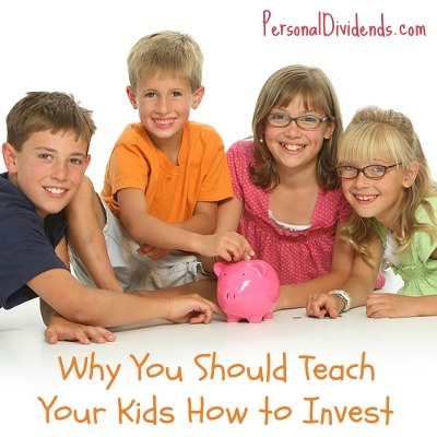 Why You Should Teach Your Kids How to Invest