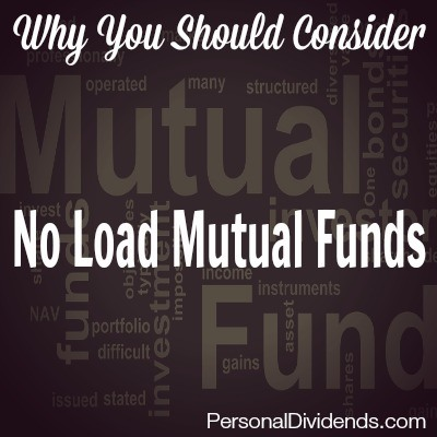 Why You Should Consider No Load Mutual Funds