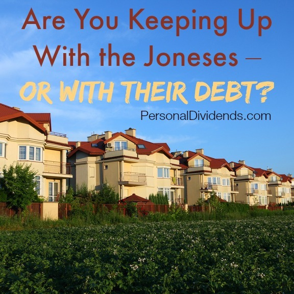 Are You Keeping Up With the Joneses – Or With Their Debt?
