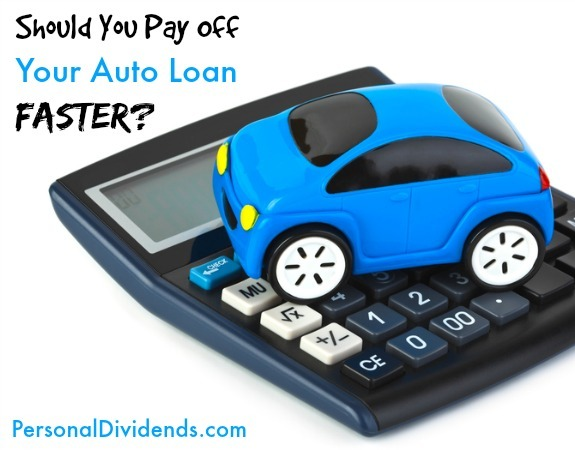 Should You Pay Off Your Auto Loan Faster?