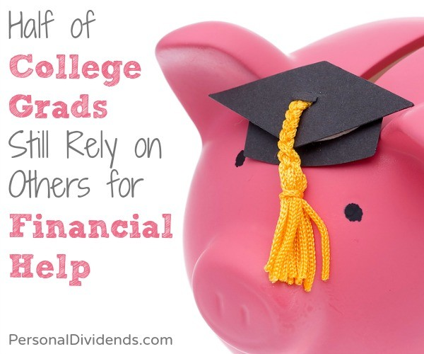 Half of College Grads Still Rely on Others for Financial Help