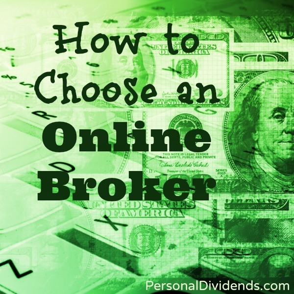How to Choose an Online Broker